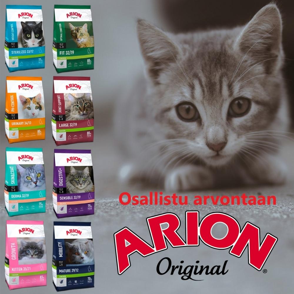 Arion kissanruoka-arvonta